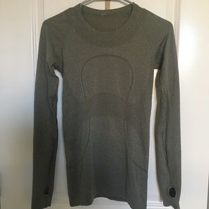 Lululemon Swiftly Speed Longsleeve - Olive
